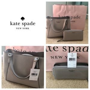 NWT Authentic Kate Spade 2 Piece Grey Jackson